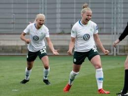 Impressionen von Wolfsburgs Meisterstück
