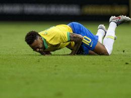 Verletzter Neymar verpasst Copa America in Brasilien