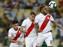 Guerrero und Farfan führen Peru zum Erfolg