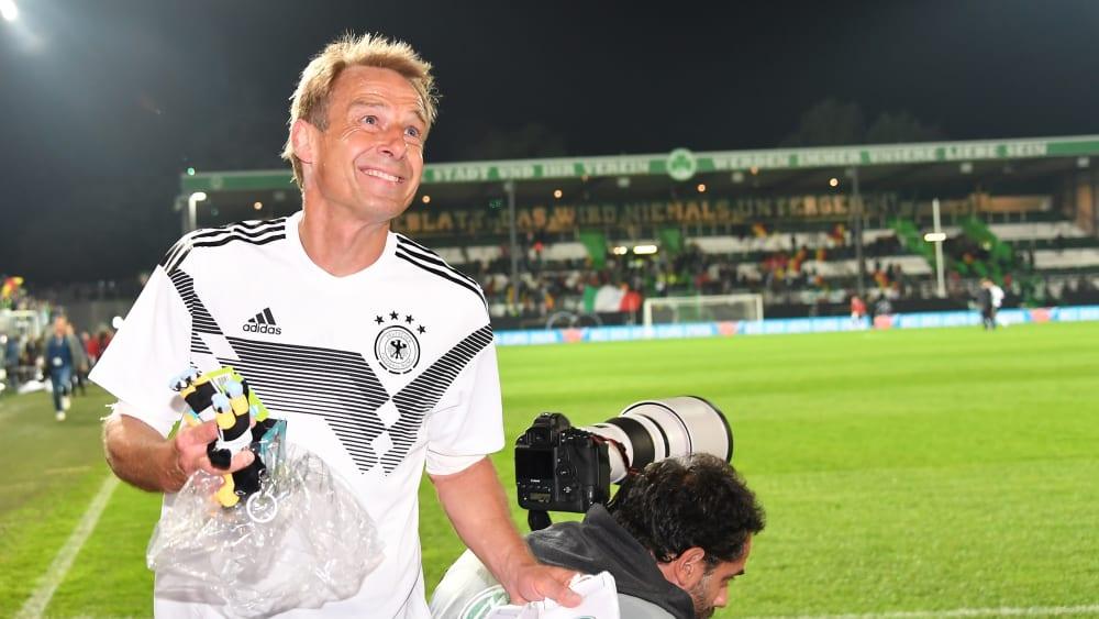 Jürgen Klinsmann am Montag in Fürth