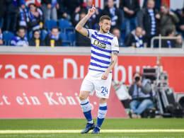 St. Pauli verpflichtet Stürmer Tashchy vom MSV