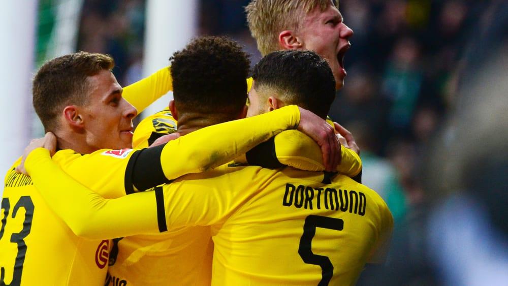 Im zweiten Durchgang ließ Dortmund den Bremern keine Chance.