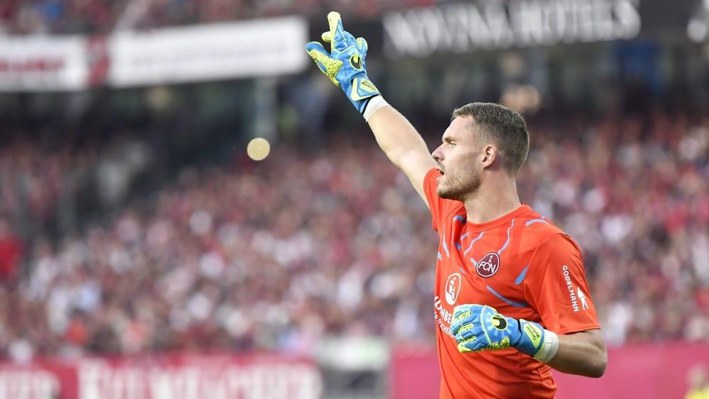 War zuletzt nicht immer ein sicherer Rückhalt: FCN-Keeper Christian Mathenia.