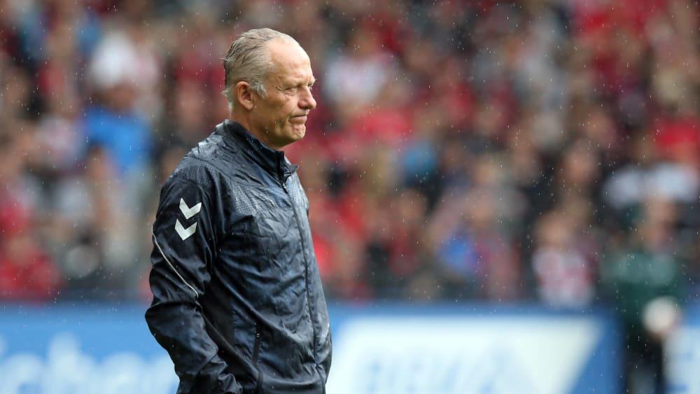 Sah einen Arbeitssieg seiner Elf: SC-Trainer Christian Streich.
