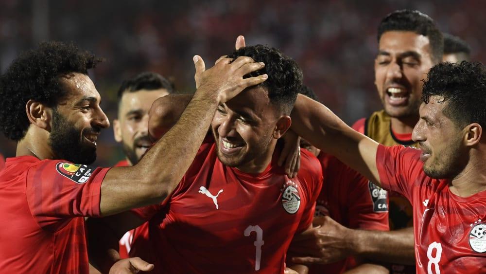 Ägypten jubelt beim Afrika-Cup-Auftaktspiel
