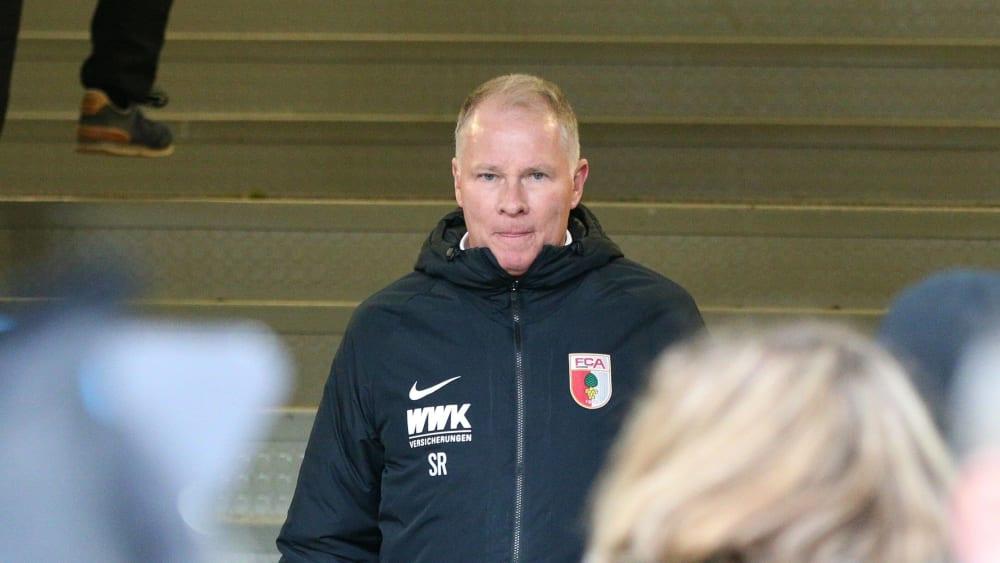 Augsburgs Manager Stefan Reuter.