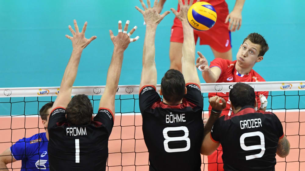 2017 unterlag das deutsche Team im Finale Russland, 2019 war für die deutschen Volleyballer früher Schluss.