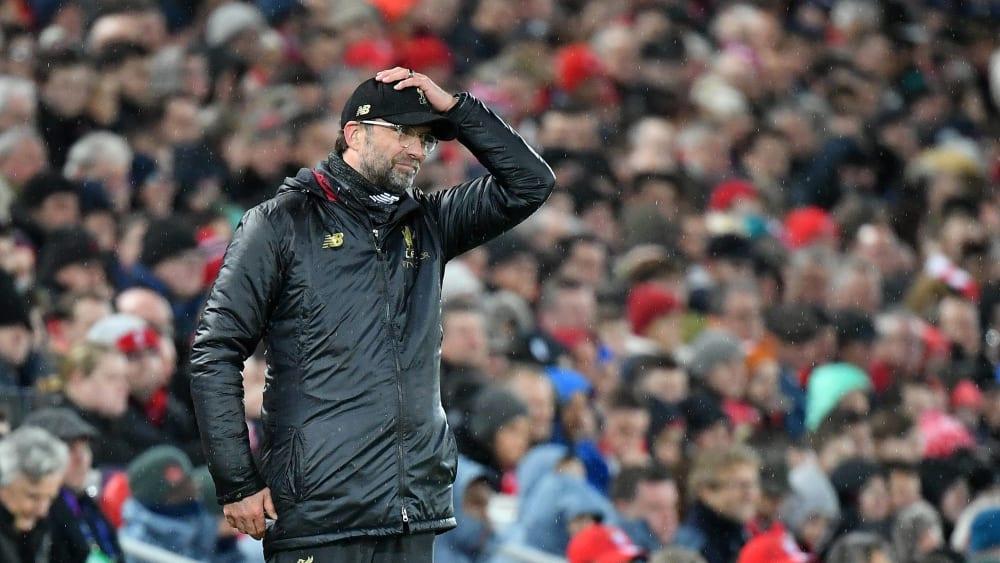 Die Klub-WM bleibt kompliziert: Liverpool-Trainer Jürgen Klopp.