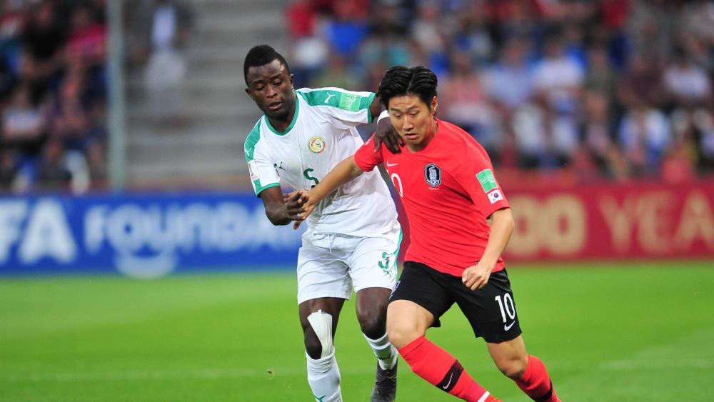 Südkoreas Star: Kang-In Lee (rechts) vom FC Valencia.