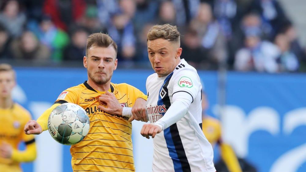 An beiden (regulären) Hamburger Toren entscheidend beteiligt: Sonny Kittel (r.).