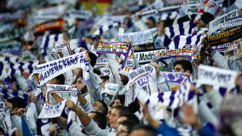 Dürfen bald auch einer Frauen-Auswahl ihres Klubs zujubeln: Fans von Real Madrid.