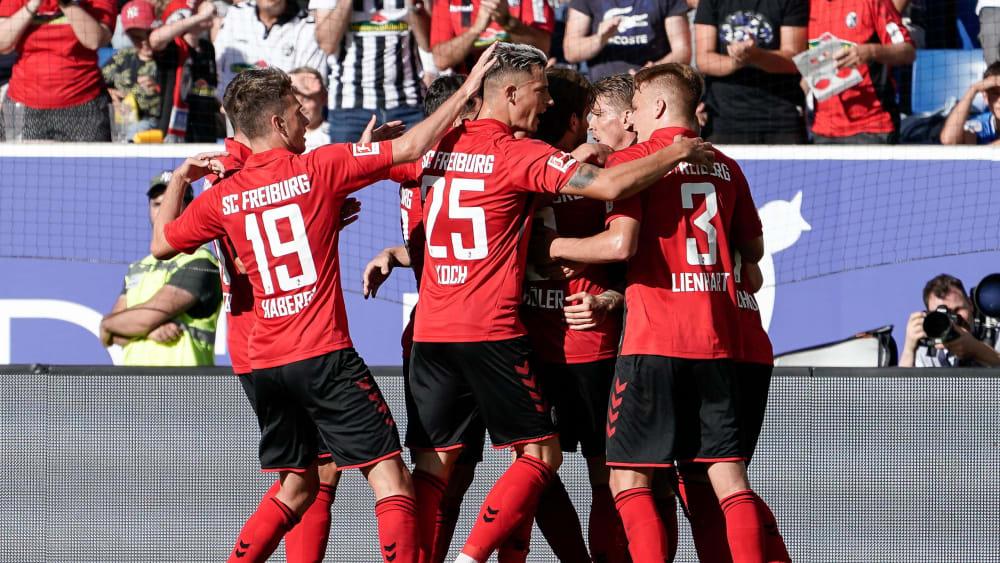 Jubel beim SC Freiburg