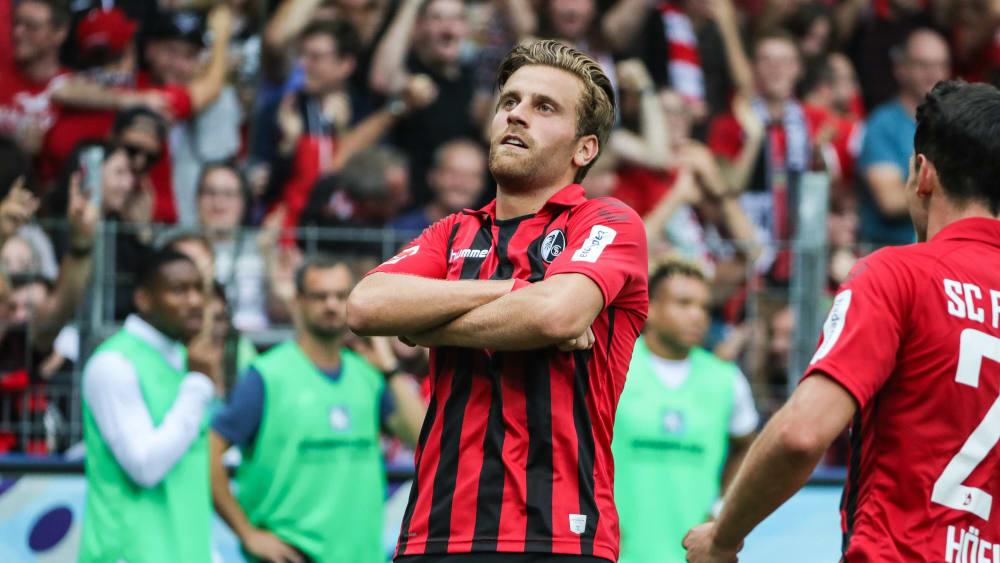 Belebendes Element: Freiburgs Lucas Höler erzielte das 1:0 und legte das 2:0 auf.