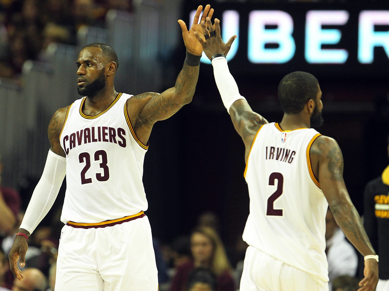 LeBron James und Kyrie Irving