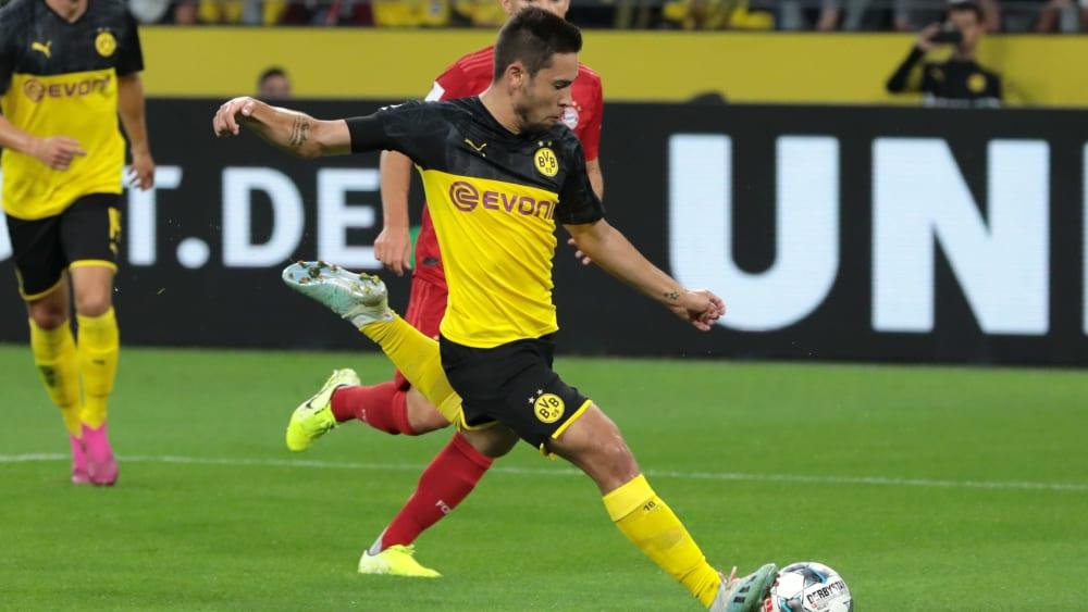 Ist er bereits eine Option für das Köln-Spiel? Dortmunds Raphael Guerreiro.