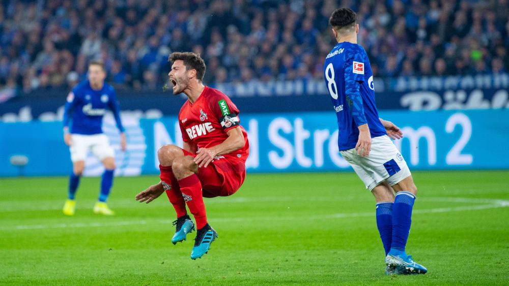 Jonas Hector beim Spiel auf Schalke