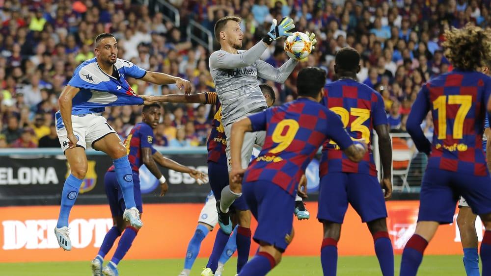 Statt ter Stegen: Neto im Tor des FC Barcelona
