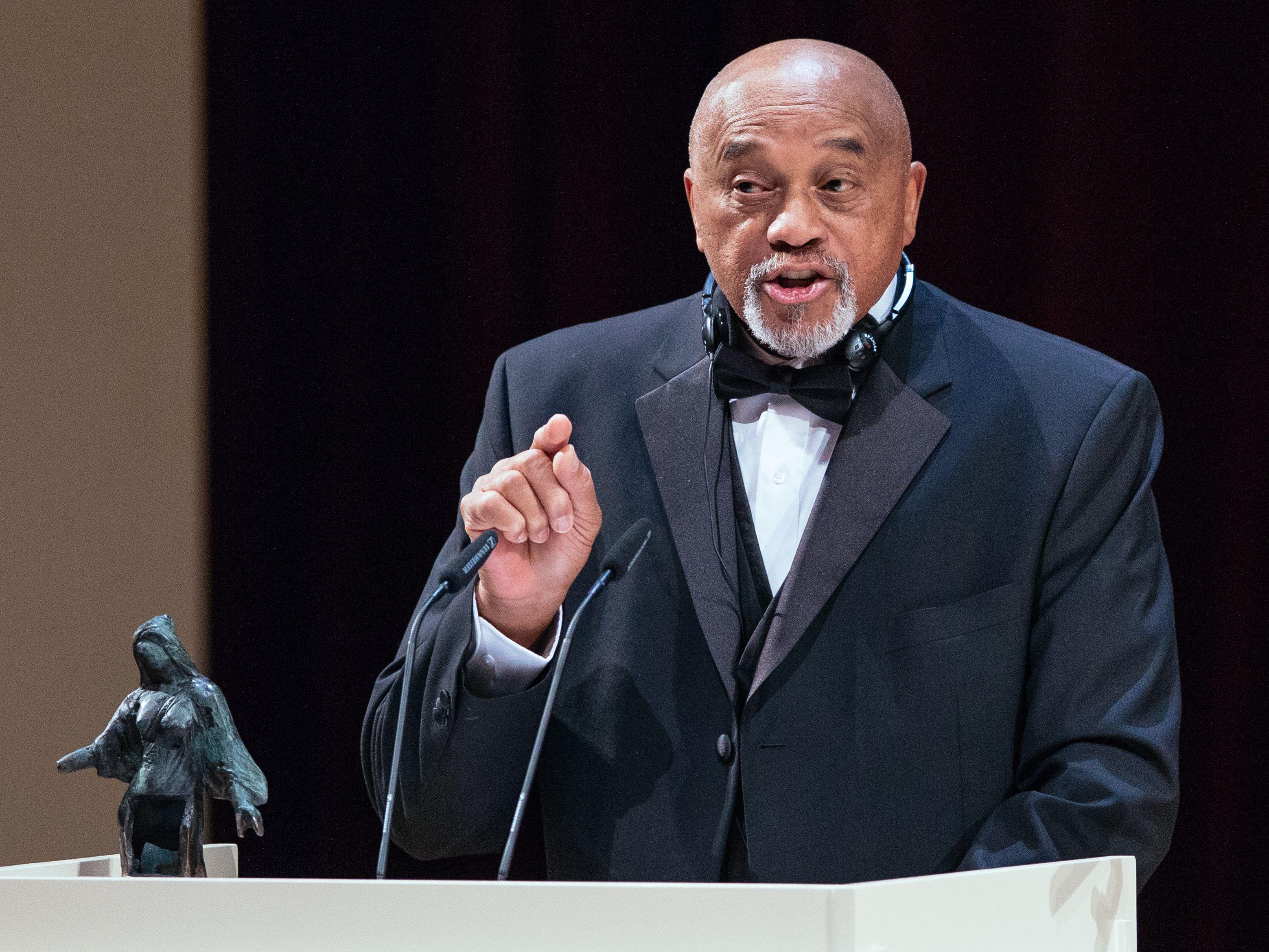 Ausgezeichnet unter anderem mit dem Dresdner Friedenspreis: Tommie Smith, der am 6. Juni seinen 75. Geburtstag feiert.