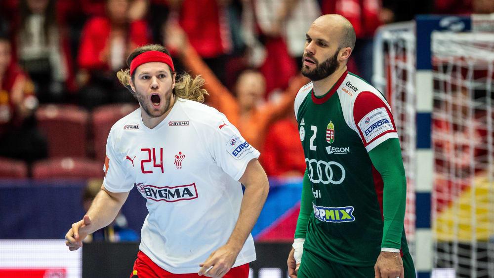 Dänemark und Mikkel Hansen haben das Vorrundenaus noch einmal abgewendet.