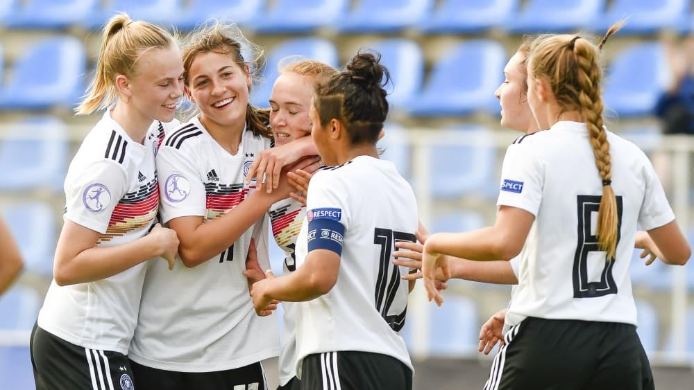 U-17-Juniorinnen des DFB