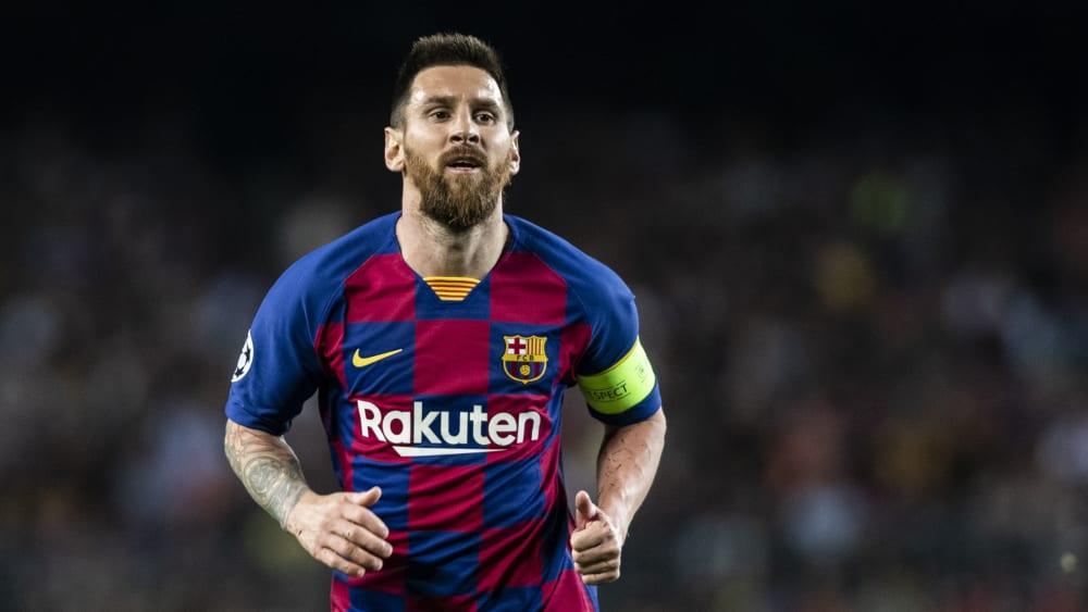 Will seine Karriere beim FC Barcelona beenden: Lionel Messi.