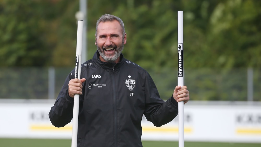 """Walter: """"Der VfB ist jetzt meine Heimat"""" - Stuttgarts Trainer trifft auf Ex-Klub Kiel"""