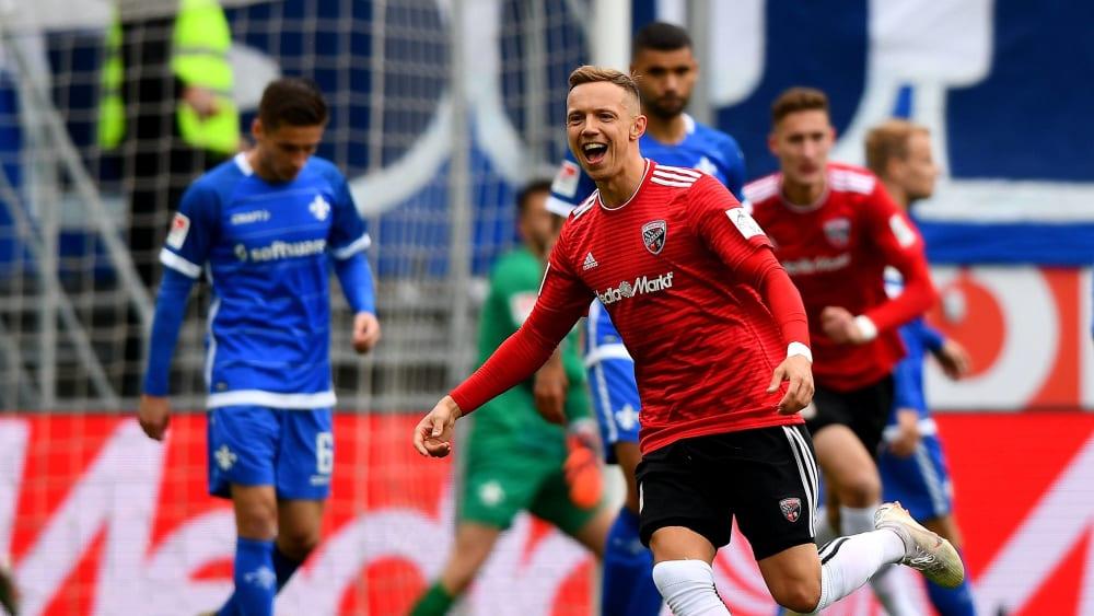 Geht künftig für den HSV auf Torejagd: Mittelfeldspieler Sonny Kittel kommt ablösefrei vom FC In Ingolstadt.