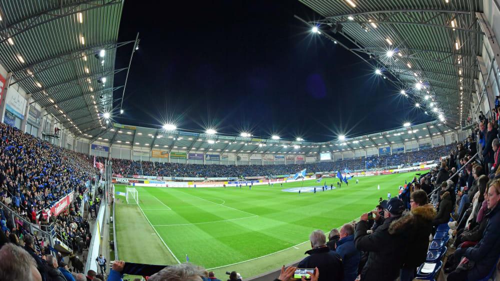 Das Stadion des SC Paderborn