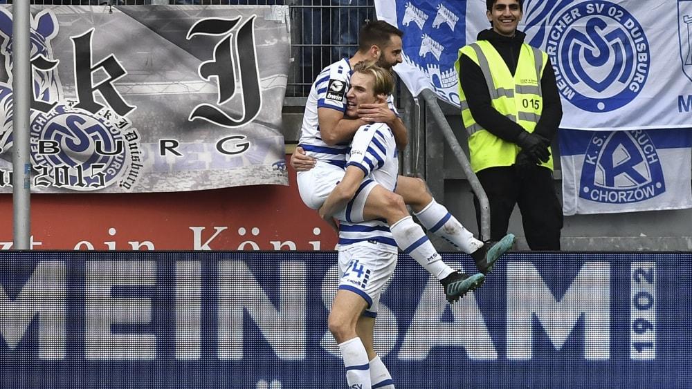 Tim Albutat (li.) und Vincent Vermeij (re.)