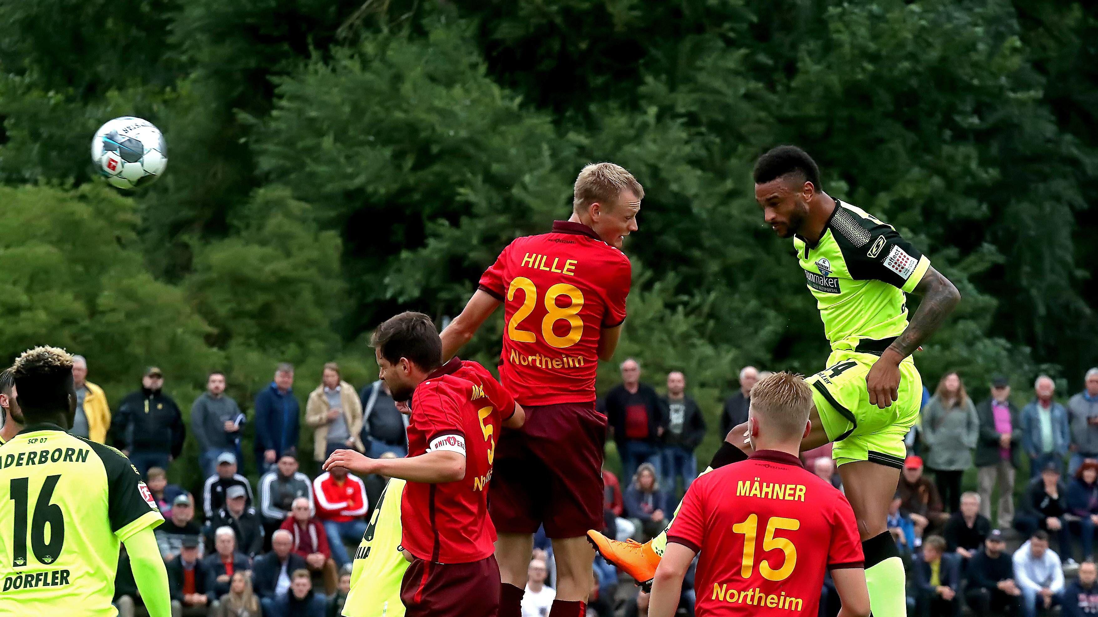Spielbericht | Eintracht Northeim - SC Paderborn 07 1:4 | KW 29 2019 | Fußball-Vereine Freundschaftsspiele 2019/20 - kicker
