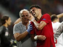 Schulterblattbruch: Pepe verpasst Finale der Nations League