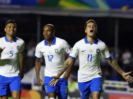 Dank doppeltem Coutinho: Brasiliens gelungener Copa-Einstand