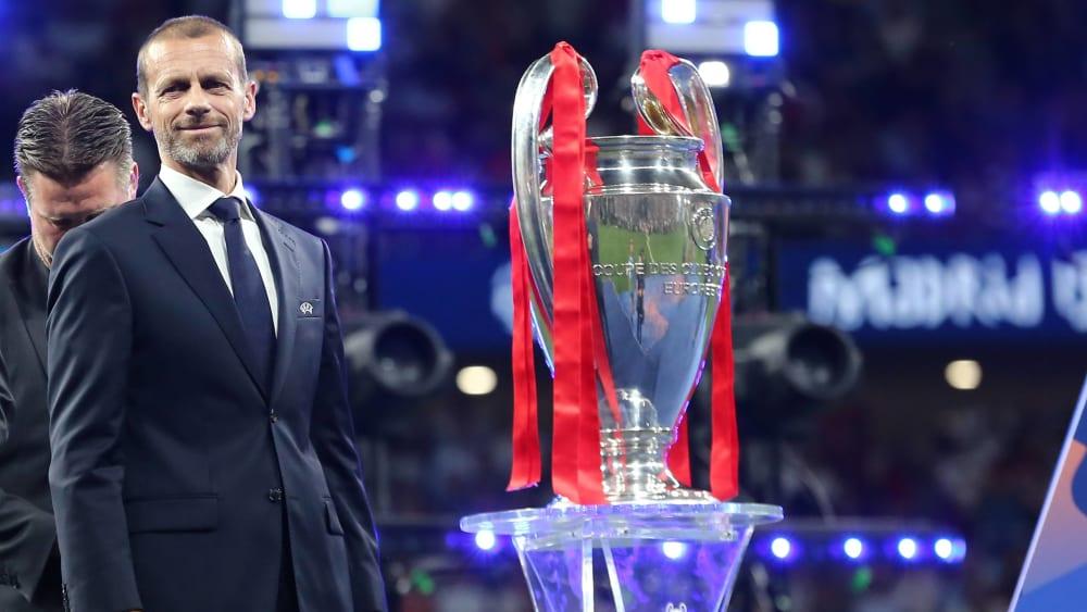 Neue Ideen für die Königsklasse: UEFA-Präsident Aleksander Ceferin.