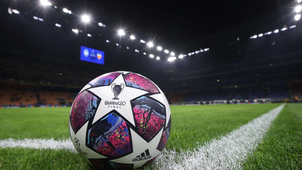 Ball in der Champions League