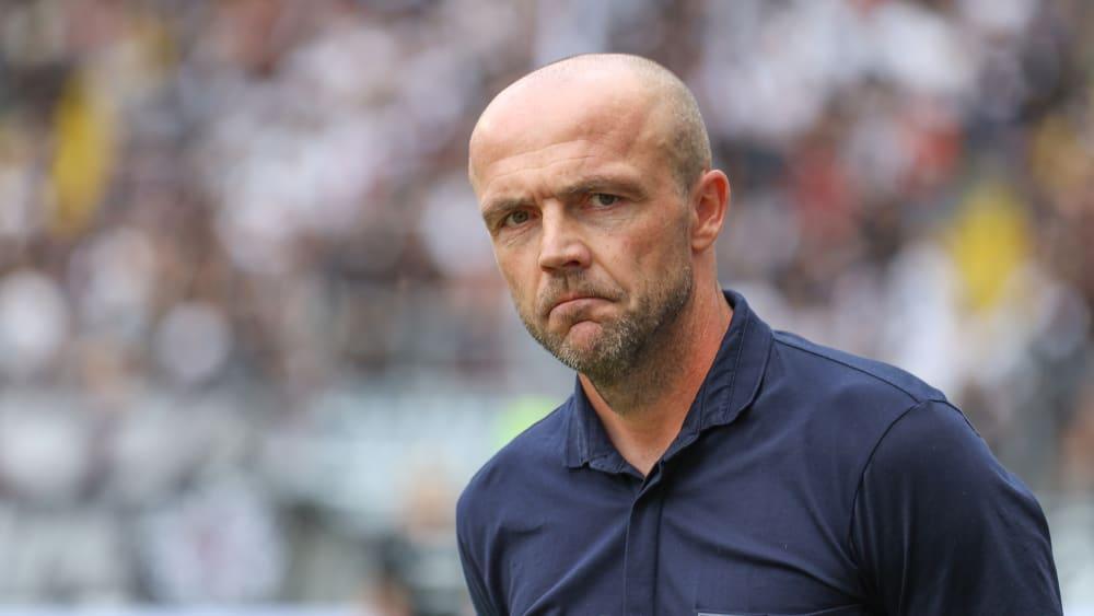 Wich nicht von der Ursprungsidee ab: Hoffenheims Trainer Alfred Schreuder.