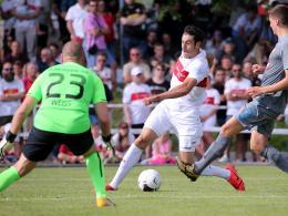 Dreierpack durch VfB-Neuzugang Al Ghaddioui