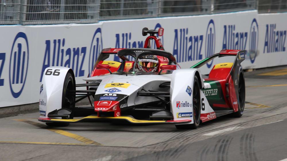 Hat seinen Vertrag um ein weiteres Jahr verlängert: Audi-Pilot Daniel Abt.