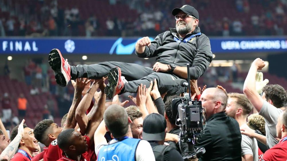 Jurgen Klopp Ist Trainer Des Jahres 2019 Bundesliga Kicker