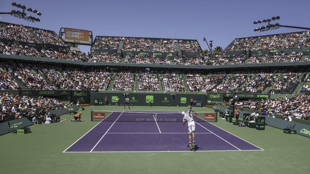 In Miami werden dieses Jahr keine Turniere ausgetragen.