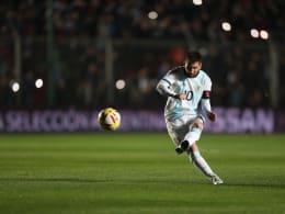 Messi führt Argentinien zu Sieg über Nicaragua