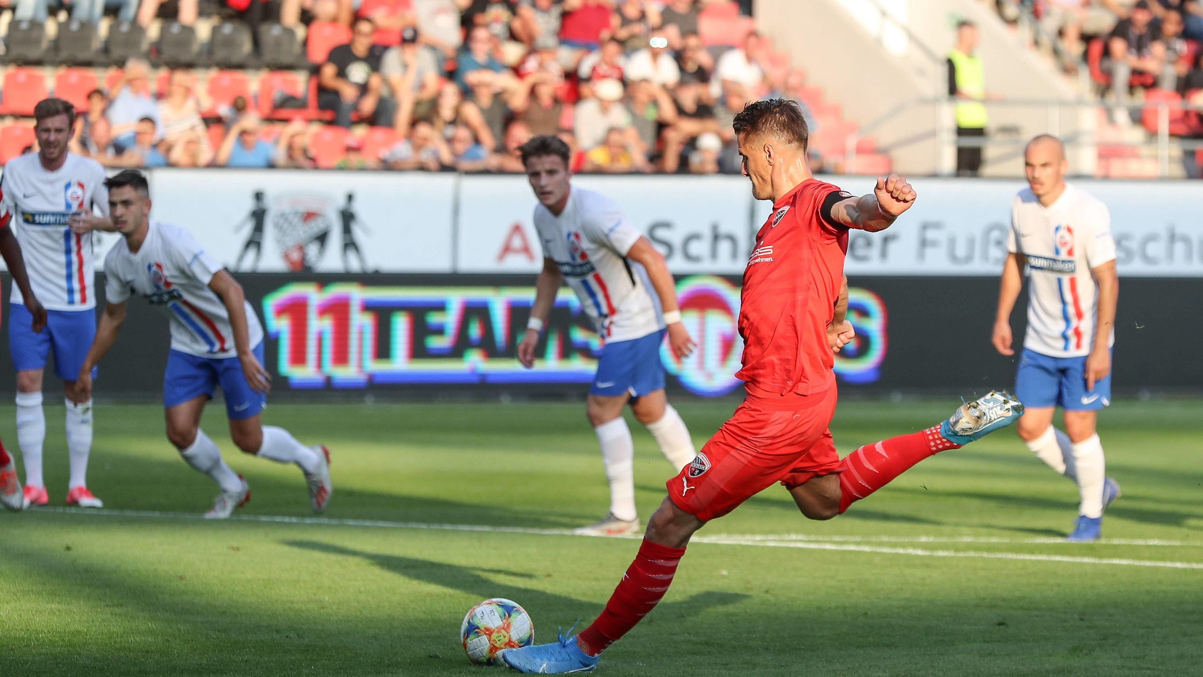Spielbericht   FC Ingolstadt 04 - Hansa Rostock 2:2   6. Spieltag   3. Liga 2019/20 - kicker