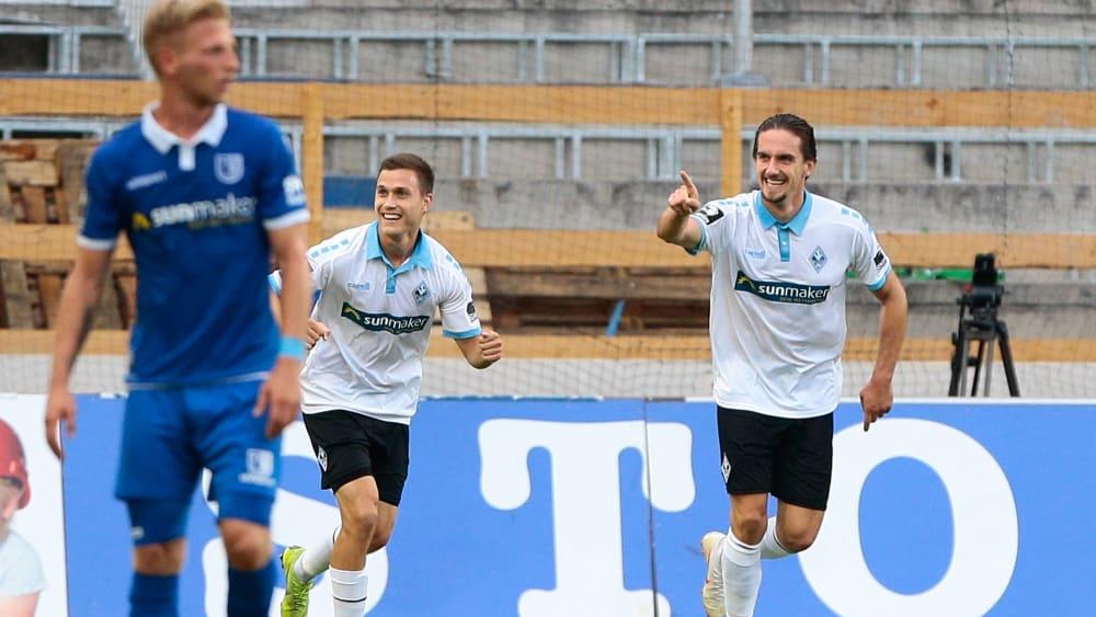Gianluca Korte und Valmir Sulejmani