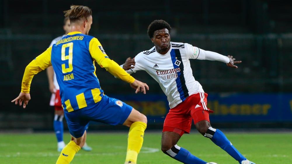 Hecking befördert Youngster Sousa - HSV: Trotz Patzers auch Lob für Ewerton
