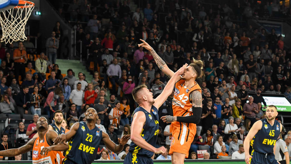 ratiopharm Ulm gegen EWE Baskets Oldenburg