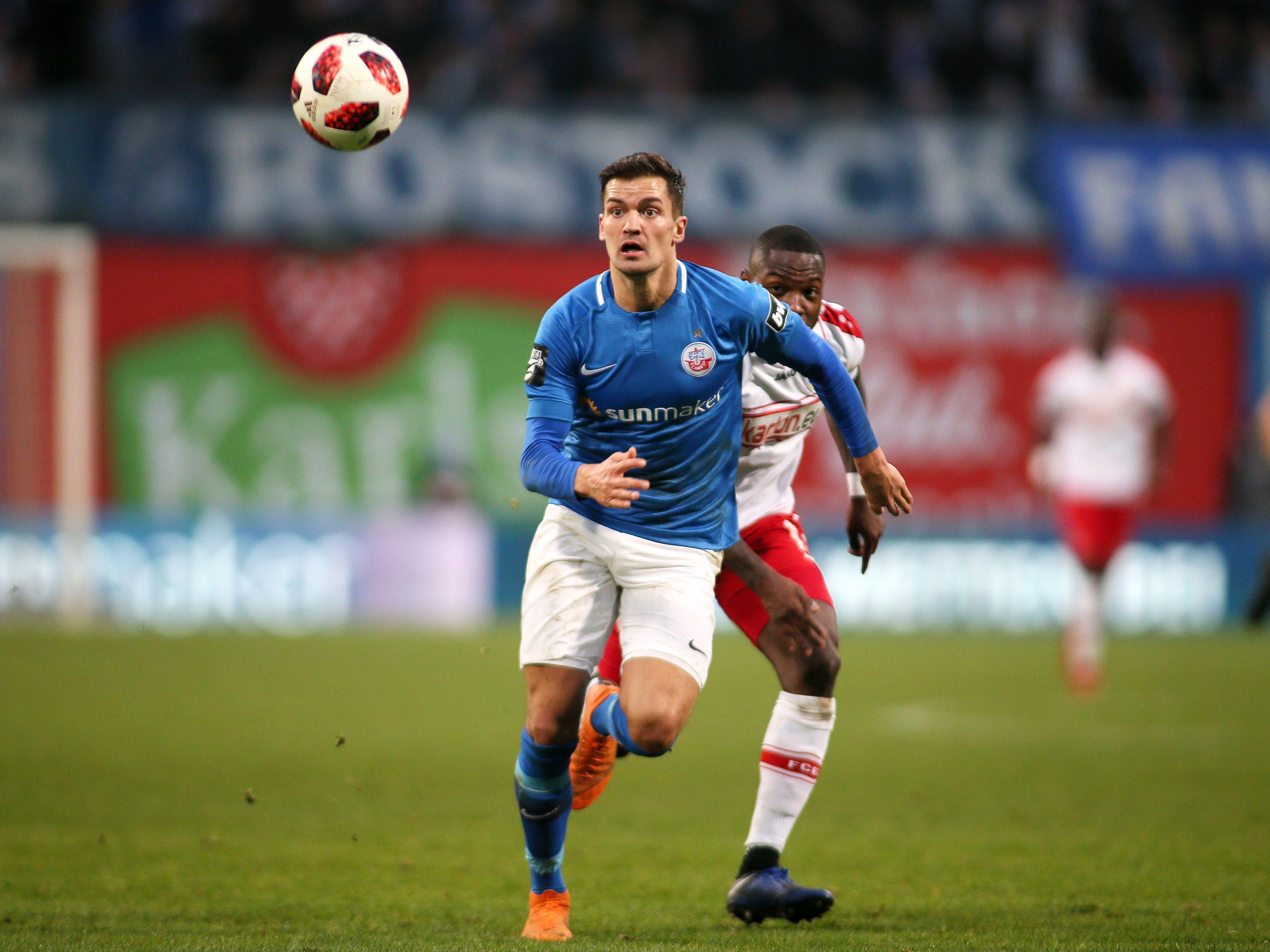 Neuer Hansa-Kapitän: Innenverteidiger Julian Riedel.