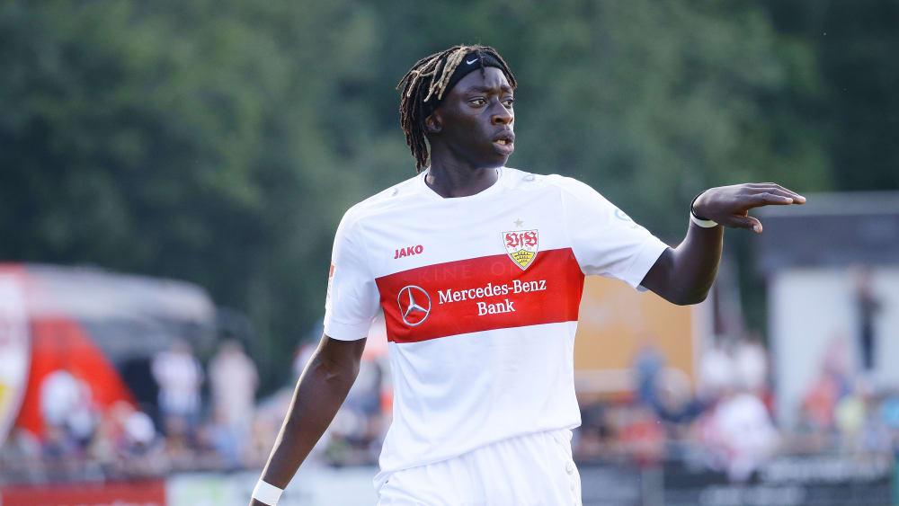 Über den VfB zur französischen Nationalelf? Stuttgarts Neuzugang Tanguy Coulibaly.