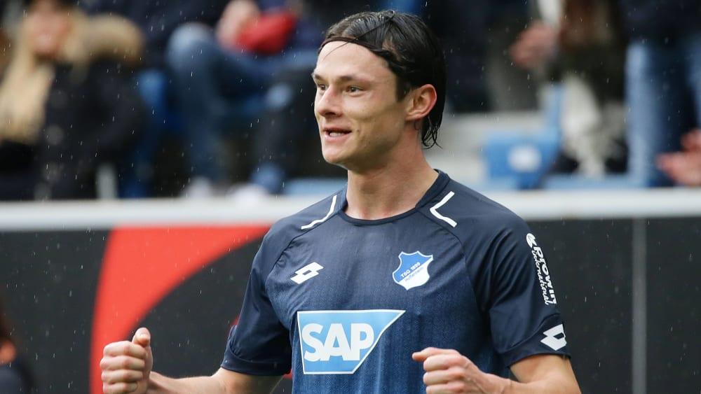 Hoffenheims Nico Schulz spielte stark auf.