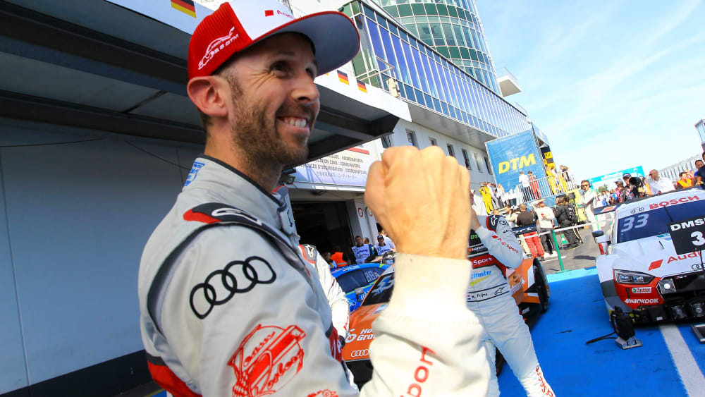 Zum zweiten Mal DTM-Champion: Audi-Pilot René Rast.