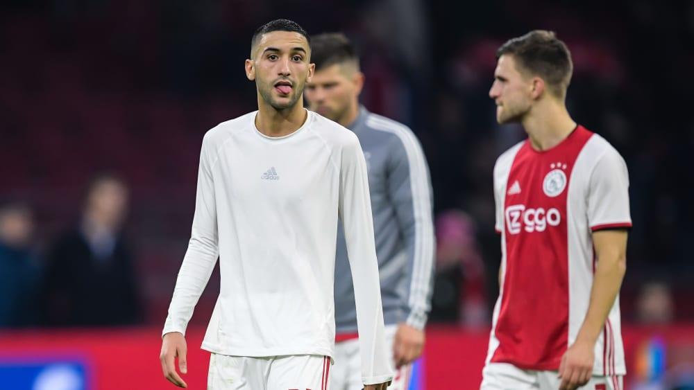 Nach dem 0:2 gegen Willem II Tilburg zogen Hakim Ziyech (l.) und Co. lange Gesichter.