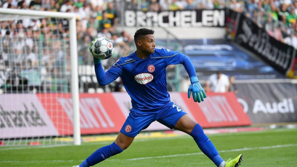 Starke Leistung, keine Punkte: Düsseldorfs Torhüter Zack Steffen.